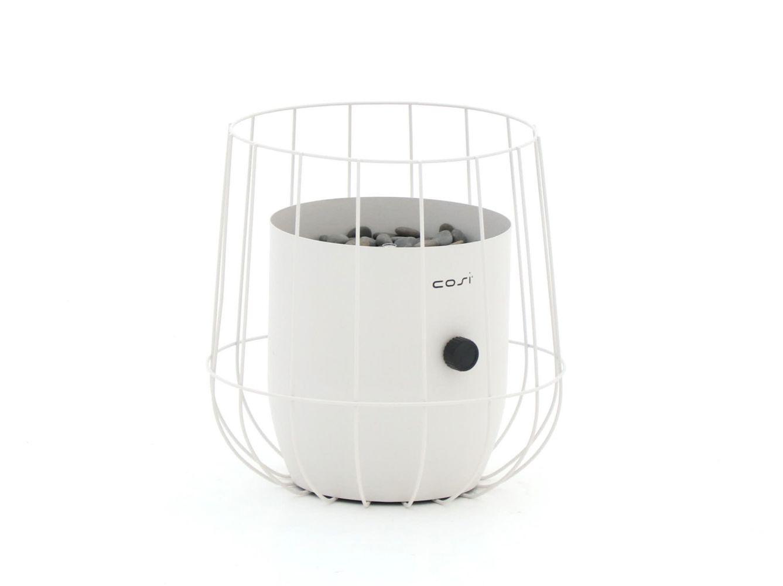Cosiscoop Basket Tischkamin Weiß