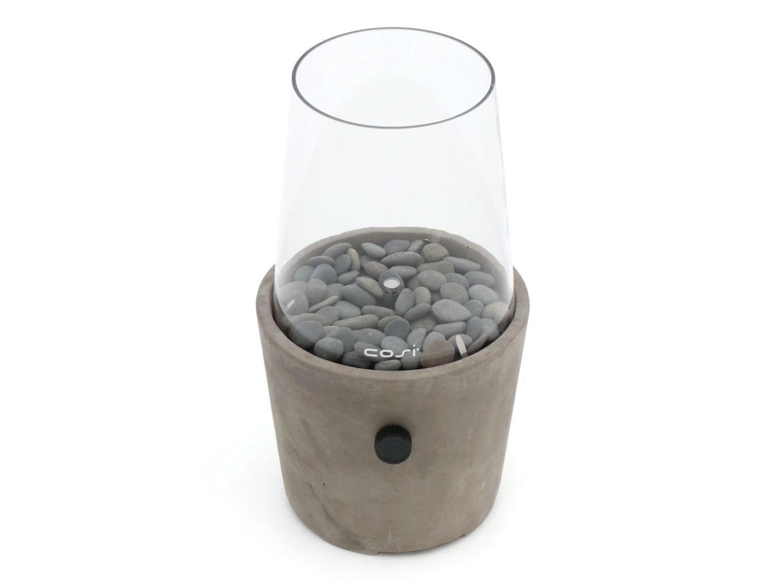 Tischkamin Cosiscoop aus Zement