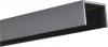 Alu U-Abschluß Profil Steingrau 2 Meter lang