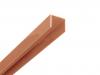 Alu U-Profil Braun 2 Meter lang inkl. Verbinder