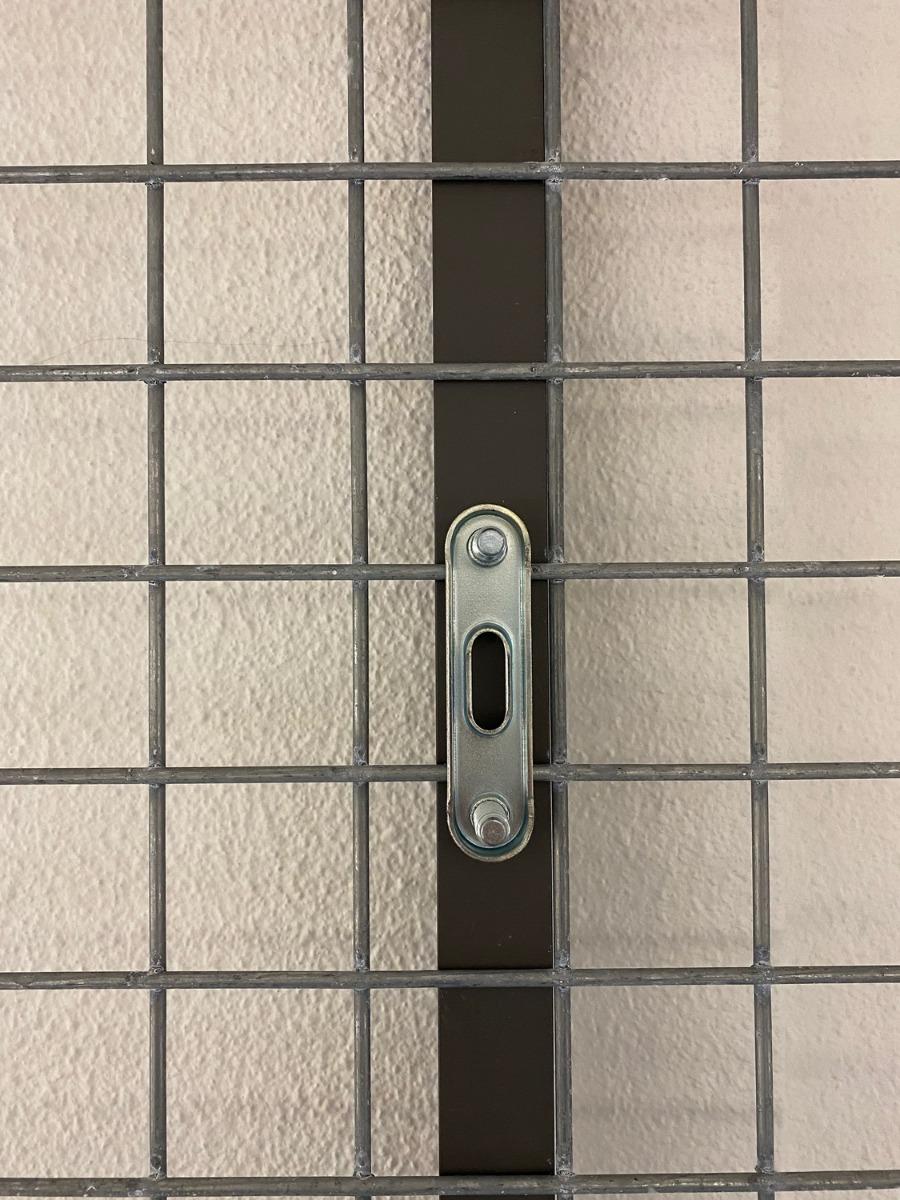 Gabionen Verbinder U-Profil hinten