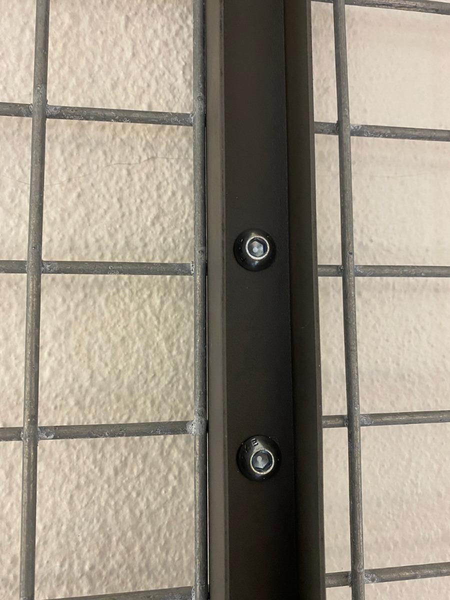 Gabionen Verbinder U-Profil vorne