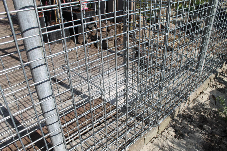 Gabionen Betonmörtel