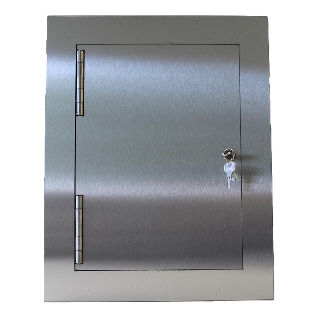 Gabionen Edelstahl Paketbox Deluxe 22cm