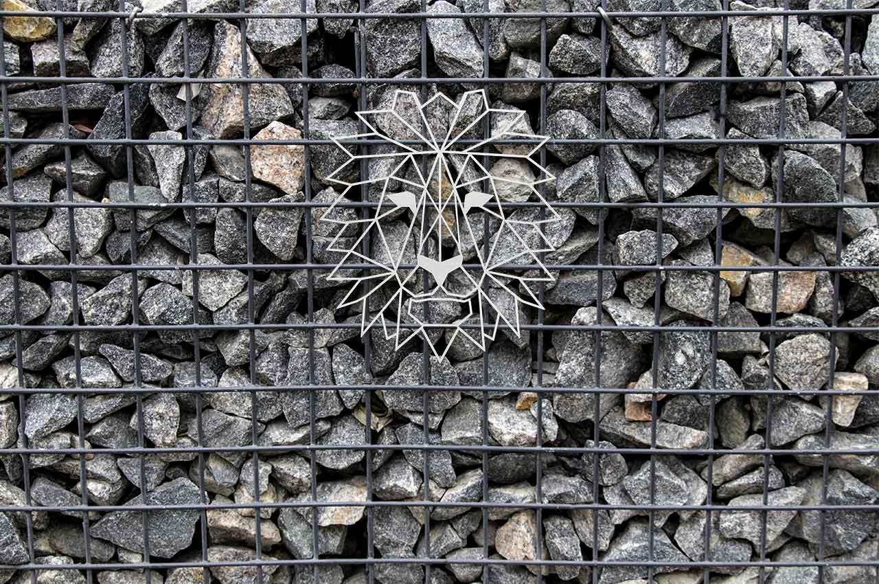Löwe Dekoration
