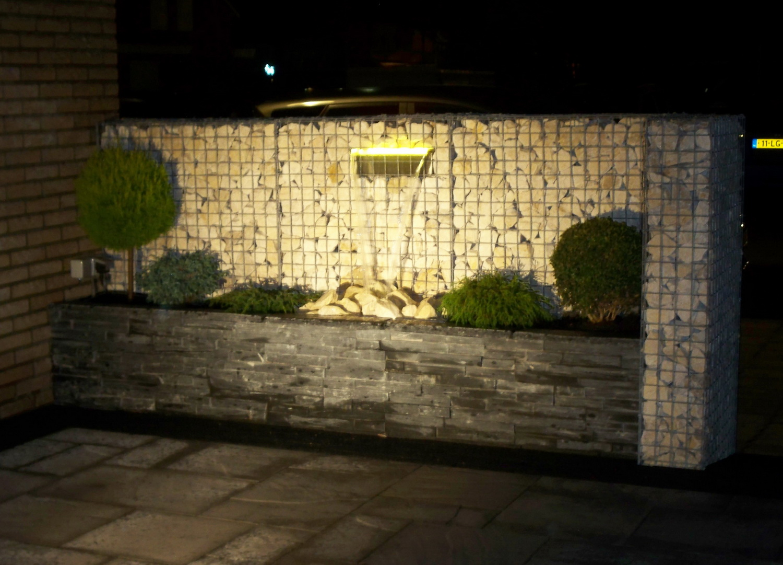 Wasserrfall mit LED