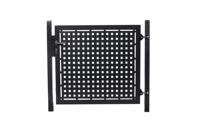 Zauntor mit Laserausschnitt (25x25cm) Quadrat