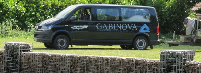Gabinova Aufbauteam Gabionen